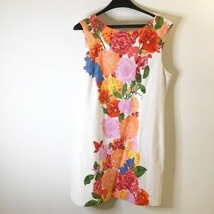 Tracy Reese colorful floral dress